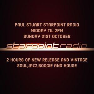 Paul Stuart Starpoint Radio Sunday 21st October 2018