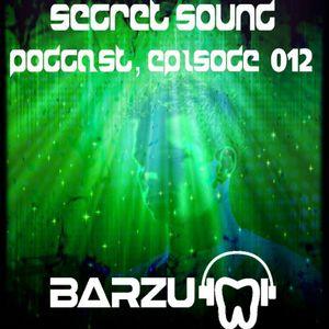 BarZu - Secret Sound Podcast, episode 012