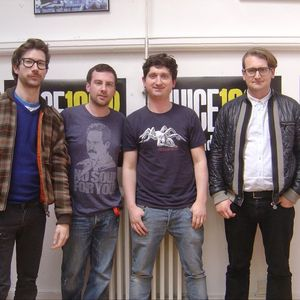 The Young Knives Takeover on Brighton's Juice 107.2