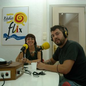 """Albert Mani al """"Quina Calda"""" de Ràdio Flix."""