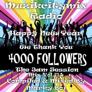 Marky Boi - Muzikcitymix Radio Mix Vol.114 (4K Followers The Jam Session)