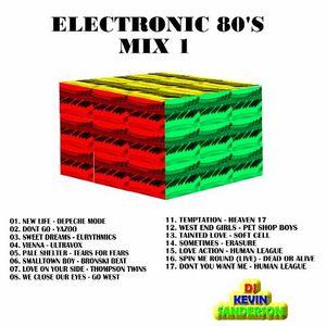 80's Electronic mix 1