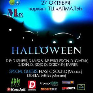 Plastic Sound @ Alamaty, Alamaly parking Halloween 2012