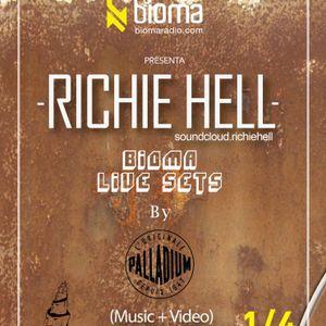 BIOMA LIVE SETS - DJ RICHIE HELL - 10.08.12 - BIOMARADIO.COM
