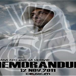 Coliseum Memorandum  Nada Mas Que La Verdad 12-11-11  Vol10