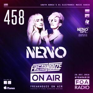 Freakhouze On Air 458 ● Nervo