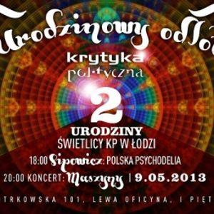 Łódź: dr Kamil Sipowicz. Polska psychodelia w literaturze (2013-05-09)