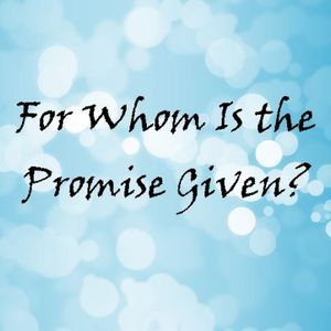 The Promise-Part 1 - Audio