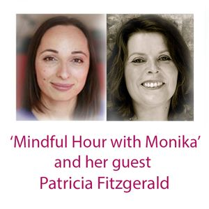 Mindful Hour with Monika Rak and her guest - mandala artist and healer - Patricia Fitzgerald