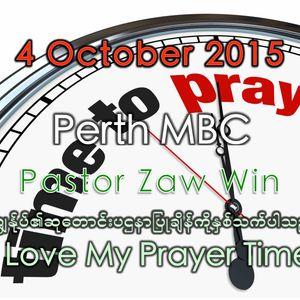 I Love My Prayer Time