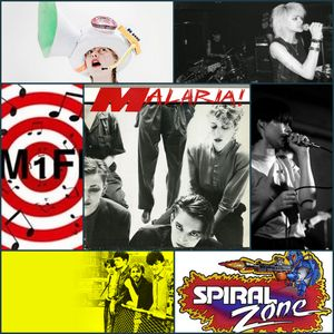 FM1FM - SPIRAL ZONE Episode 6 - Post Punk Special - Presented By Commander Fenice