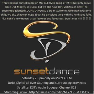 Sunset Dance 2017 04 22 Show - Podcast 2 Hours
