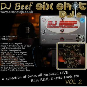 DJ BEEF Live Sessions - Friday Shake Down @ 99 Hanover St 19th June 2015