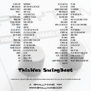 ThisWas SwingBeat, a mix of the finest NewJackSwing tracks mixed by smallHans