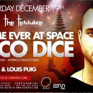 Loco Dice - Space ,Miami - 19-12-2009