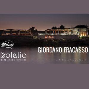 Giordano Fracasso live set at Solatio // Salento // Italy 2014-08-19