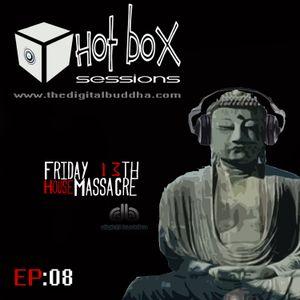 Hot Box Sessions EP8 (Friday 13th House Massacre) - digit@l buddha