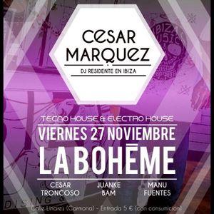 Cesar Marquez @ La Boheme Club Sevilla