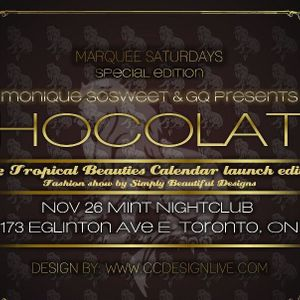 Chocolate - Promo CD - The 2012 Tropical Beauties edition - Podcast