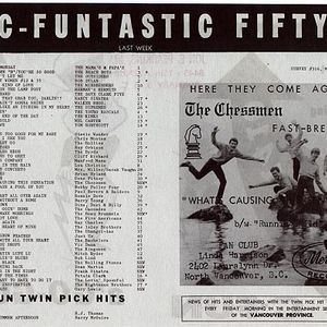 Vancouver Top 40 Chart: May 7th 1966