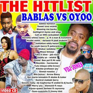 !!VDJ JONES-THE HITLIST-BABLAS vs OYOO-2017(0715638806)
