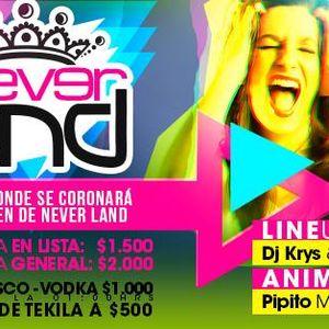 MIX PROMOCIONAL // NEVER LAND FEST // DJ KRYS