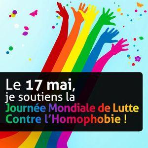 JOURNEE MONDIALE CONTRE L HOMOPHOBIE
