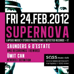 Saunders & d'Estate @ Rewired - International Tech House Club (24.02.2012)