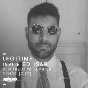 Legitime Invite Ed Isar - 12 Février 2016