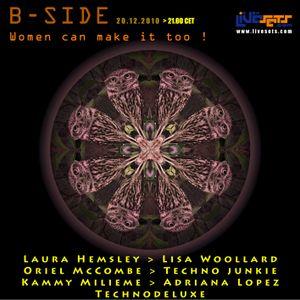 Laura Hemsley @ Bside show (20-12-2010)