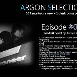 Argon Selection EP.029 - LiveMix & Select by Andrea Argon