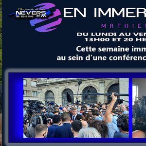 MATHIEU EN IMMERSION - CONFERENCE DE PRESSE - REPORTAGE INTEGRAL