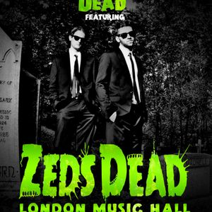 Zeds Dead @ London Music Hall Preview Mix (with Conway)
