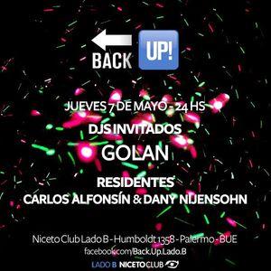DJ Golan @ Back UP! (Niceto Club) 07/05/2015