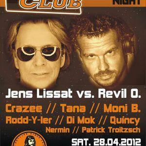 Classic Set Jens Lissat & Revil @ Rose Club Revival  April 2012