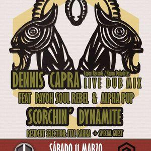 Scorchin' Dynamite Sounds at Agora Life, Aldaia (València). 11th March 2017.