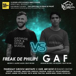 THURSDAY GROOV MIXTAPE @ GER, MR NOIZ O RADIO SHOW