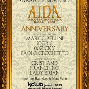 Igor S + Lady Brian @ K-Club [Aida Anniversary] 11/05/2013