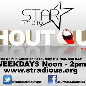 The Shout Out [11/08/2012 hr1] @BuffaloShoutOut