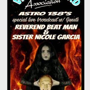 Vinyl Record Association W Special Guests Reverend Beat Man Nicole Garcia