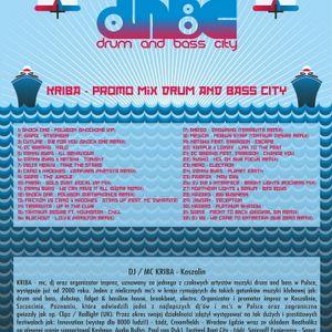 KRIBA - Promo Mix Vol5 Drum and Bass City 2011
