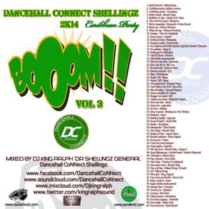 Dancehall CoNNect Shellingz 2014 Boom Vol. 3 ´Caribbean Party´