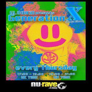 GL0WKiD pres. GenerationX [RadioShow] @ NU-RAVE RADIO (28Nov2013)