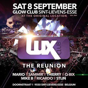 dj Mike B @ Glow Club - Lux Reunion 08-09-2018