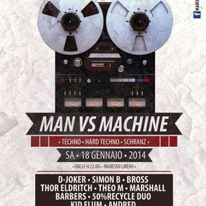 Theo M @Man VS Machine Mabba discoclub 18-01-2014