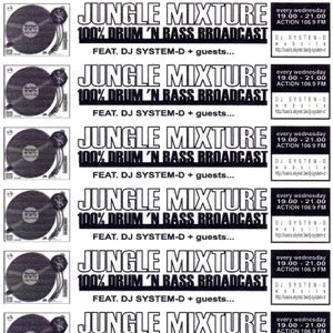 Jungle Mixture radio show 11th March 1998 - Action FM - Brussels
