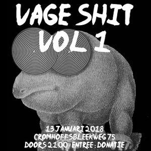 DAVID SCHEIDLER - Vage Shit volume 1 - 13 jan 2018