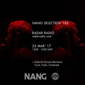NANG Selection w/ Ralph Hardy & Gabriel Garzon - 23rd March 2017