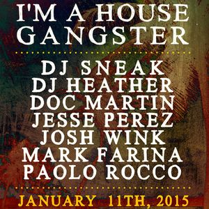 Mark Farina - Live @ The BPM Festival 2015, I'm A House Gangster (Mamitas, Mexico) - 11.01.2015