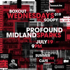 Boxout Wednesdays 019.3 - Midland Sparks [19-07-2017]